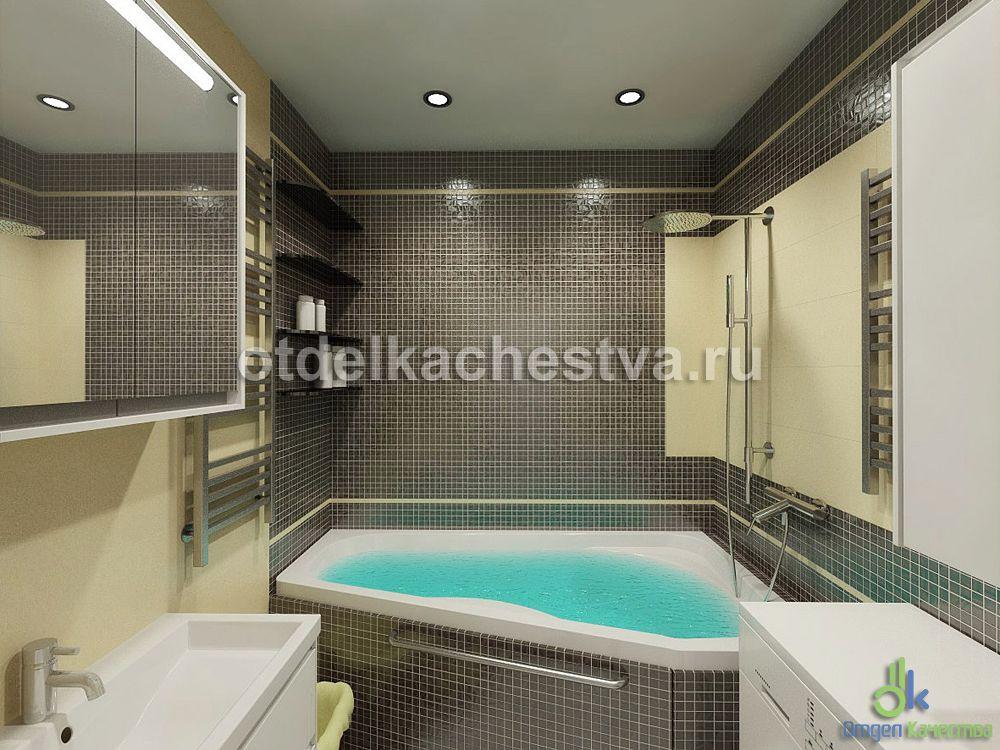 дизайн ванной в обычных квартирах фото #1