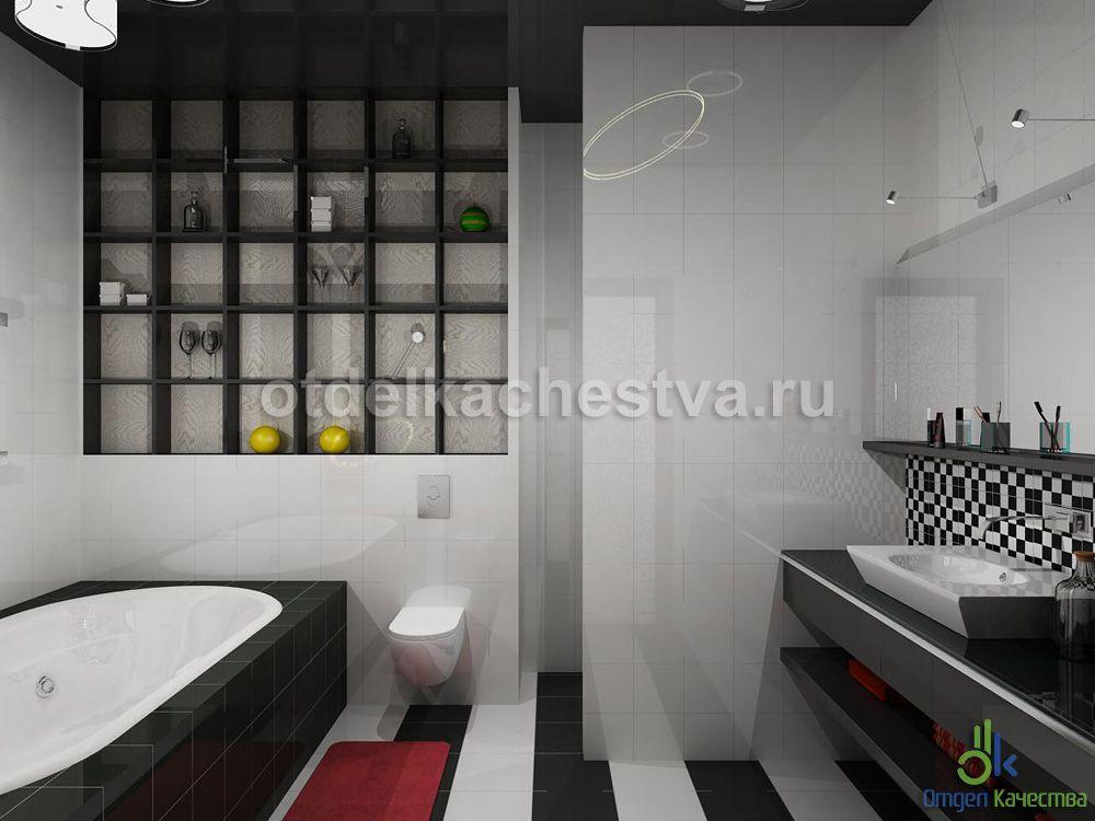 дизайн ванной в обычных квартирах фото #12
