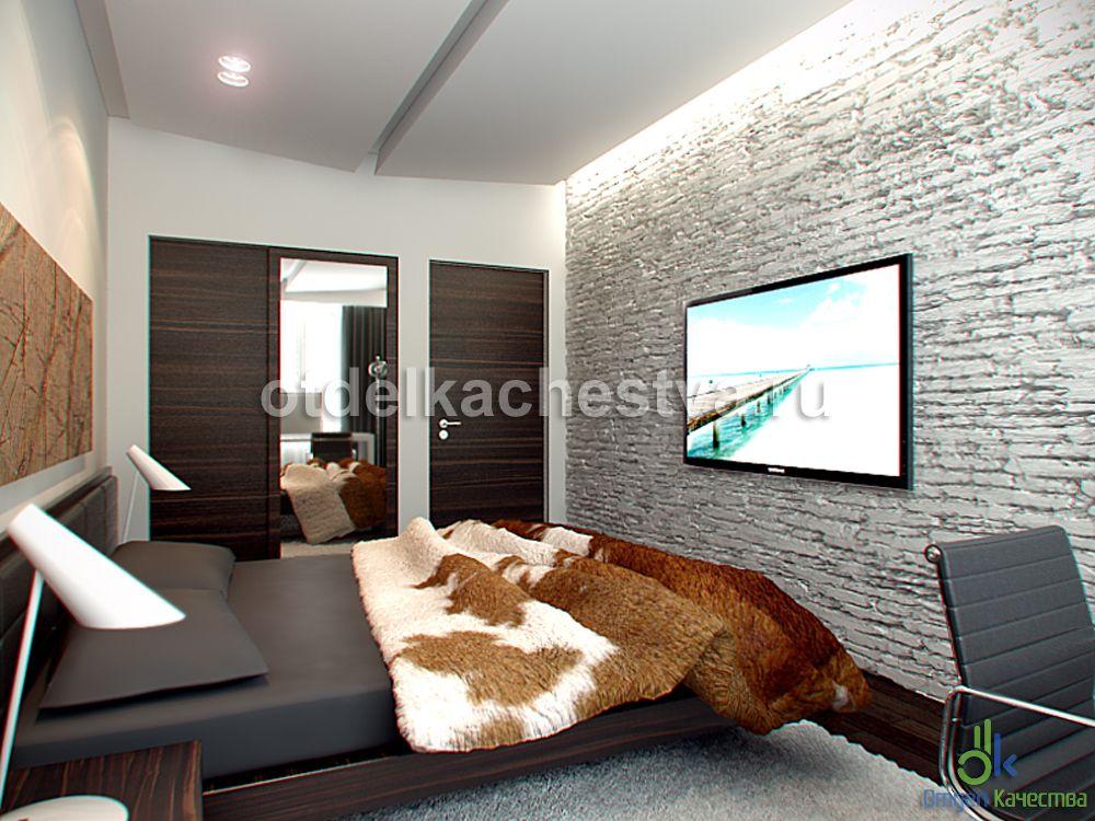 дизайн спальни в мансардном доме фото #12